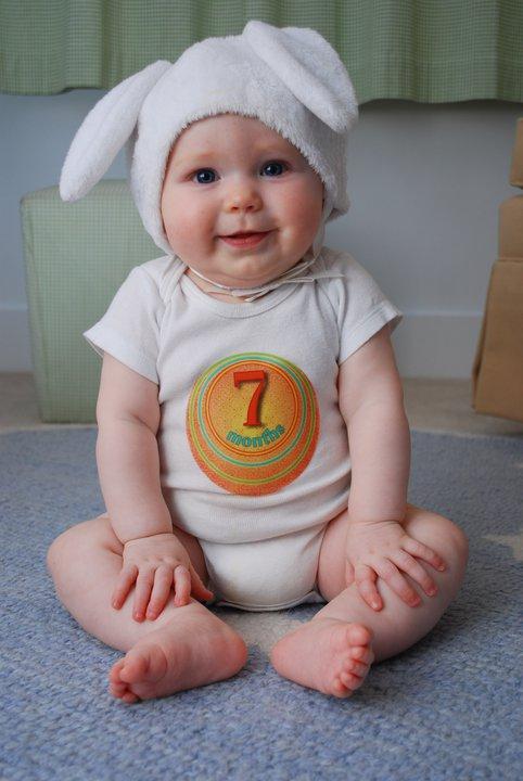 7 месяцев ребенок Мой младенец