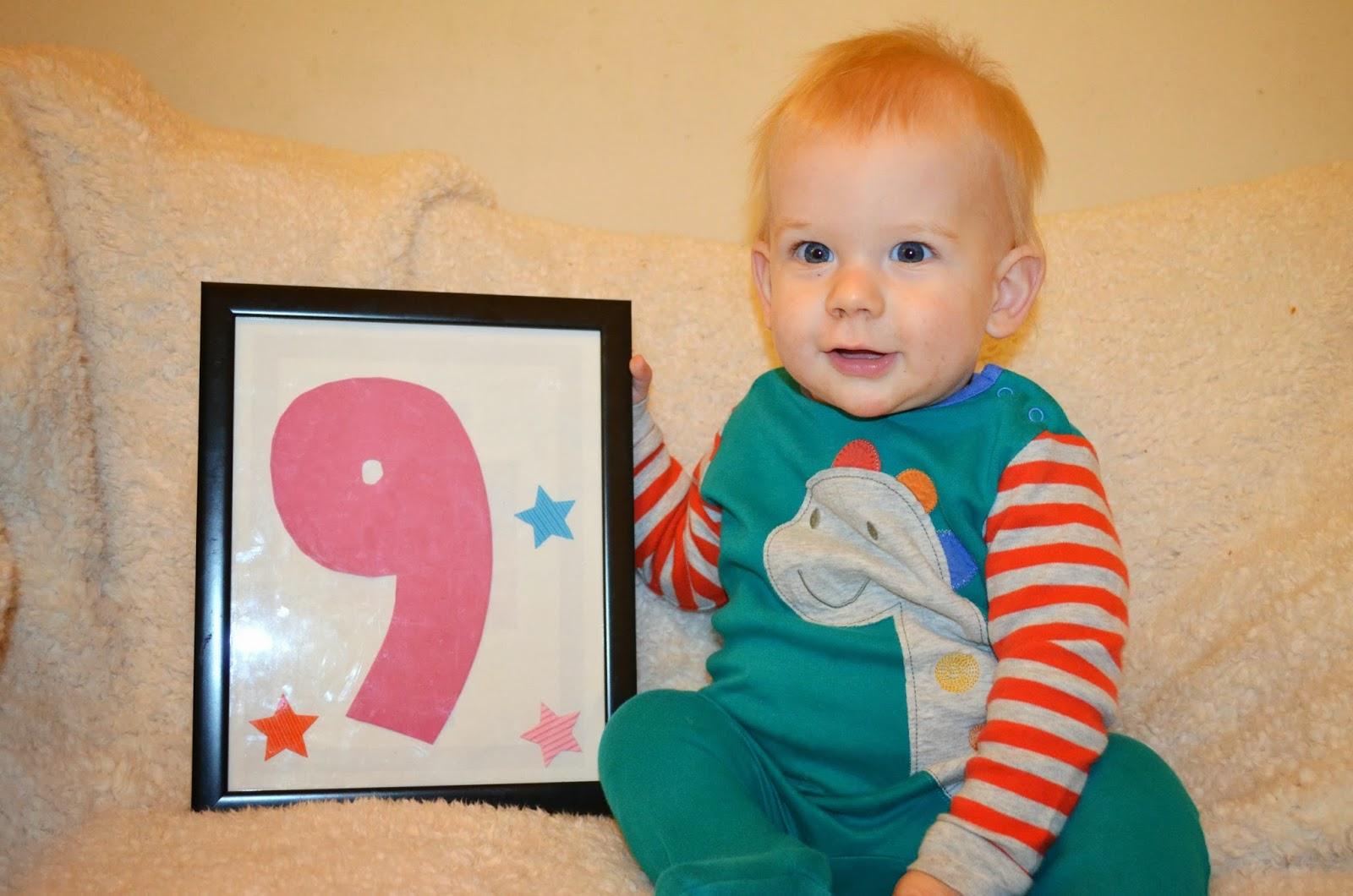 Фото детей на 9 месяце