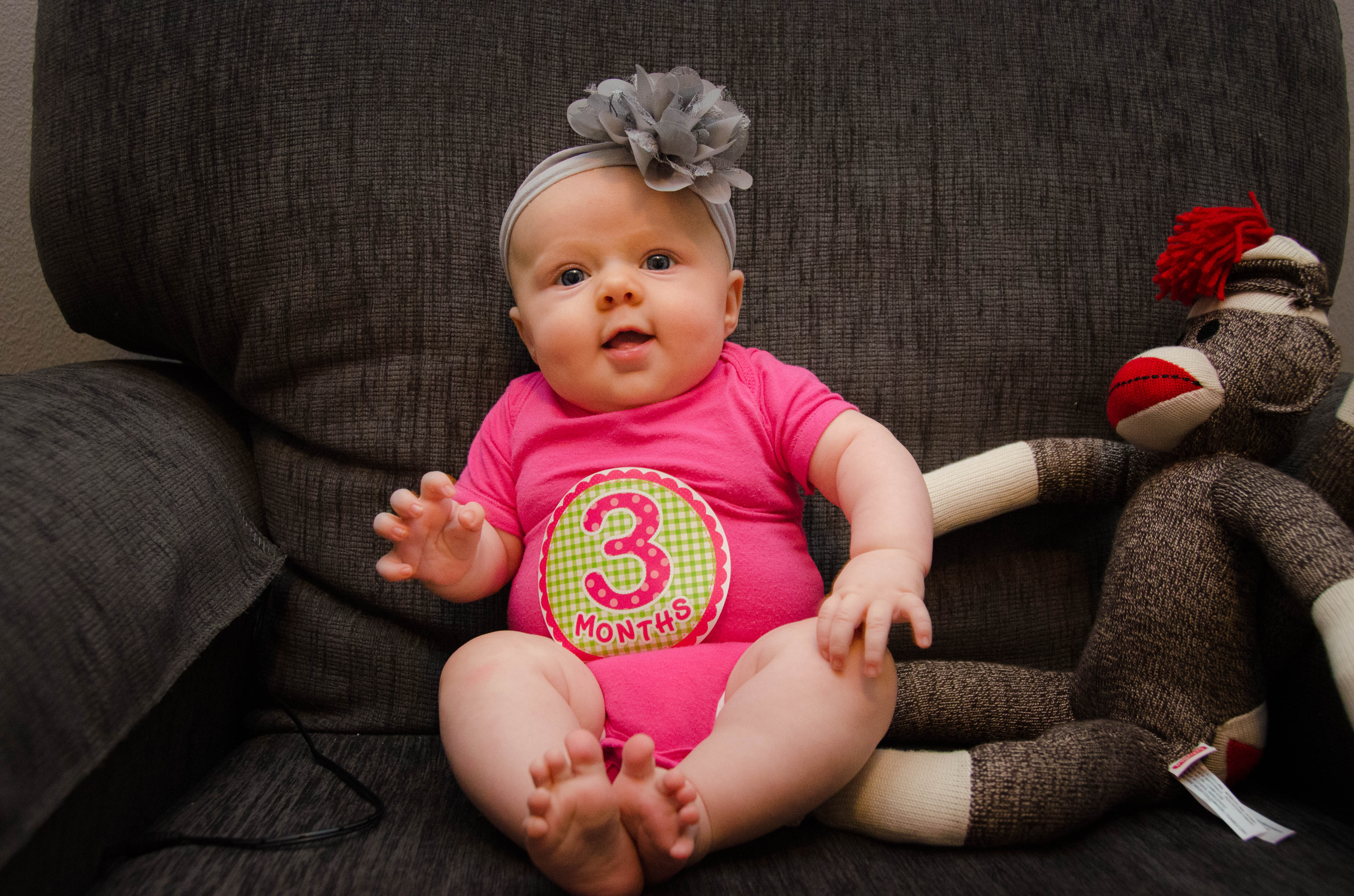 3 месяца ребенок