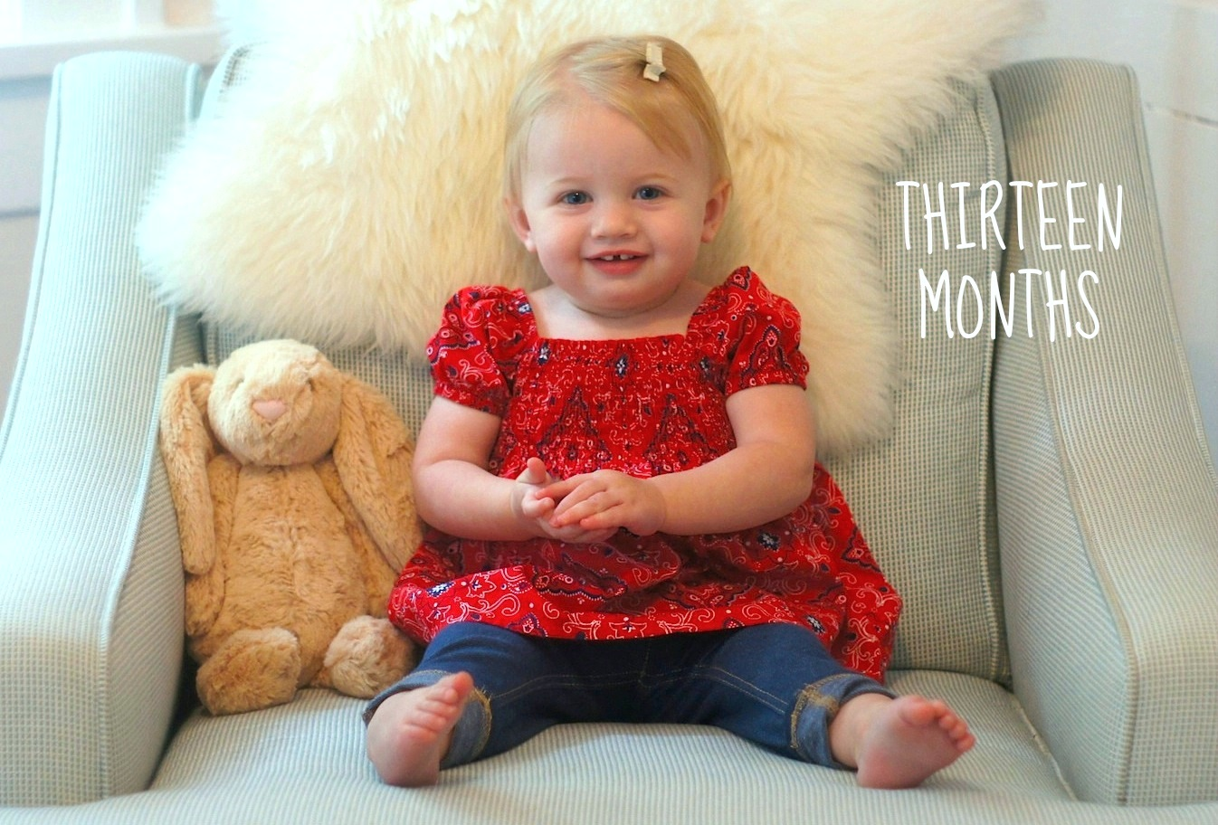 13 месяцев малышу